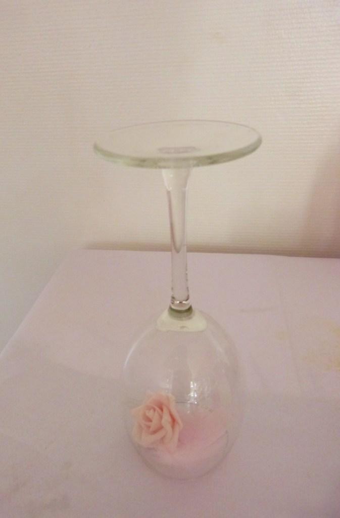 CENTRE DE TABLE ROMANTIQUE