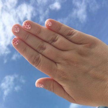 Nailstorming à pois
