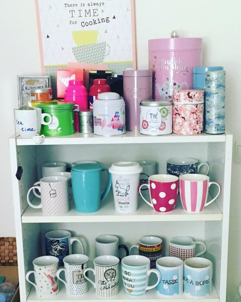 mes boites à thé