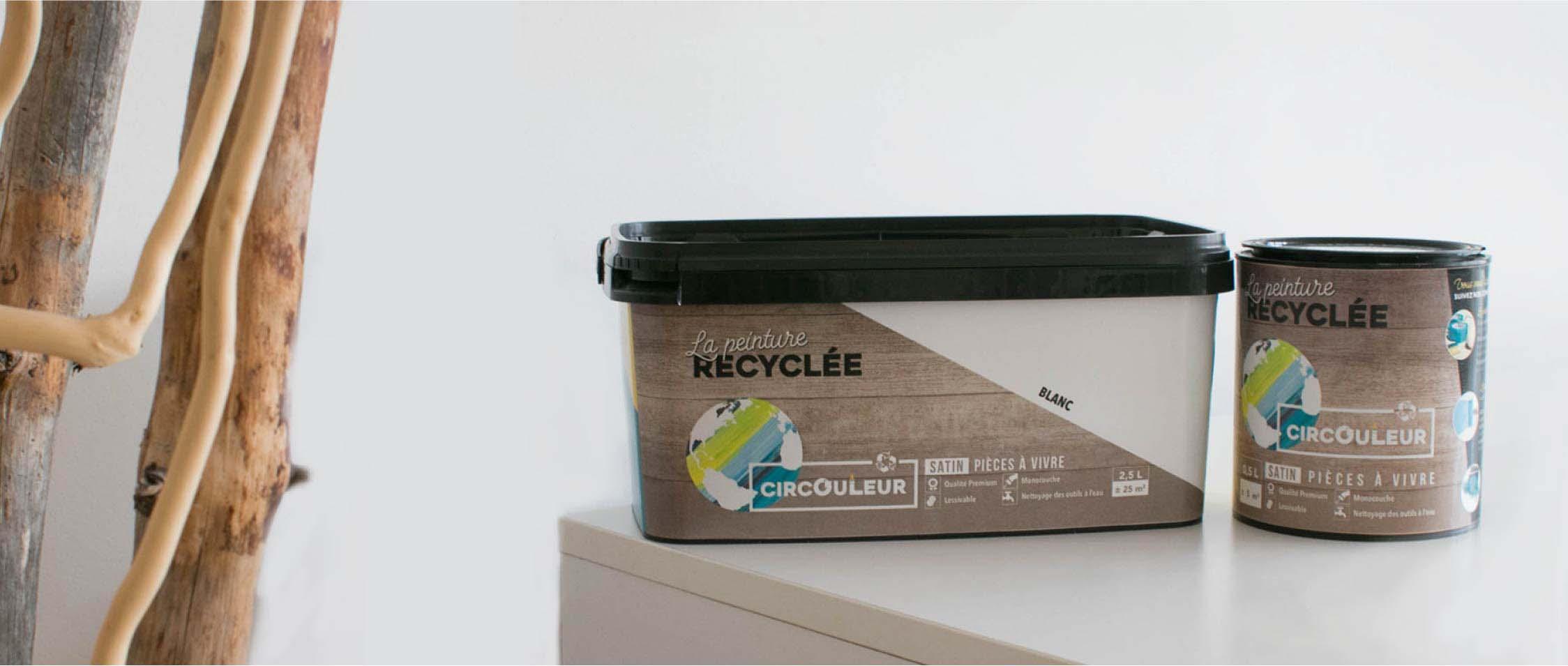 Recycler sa peinture pour une déco responsable