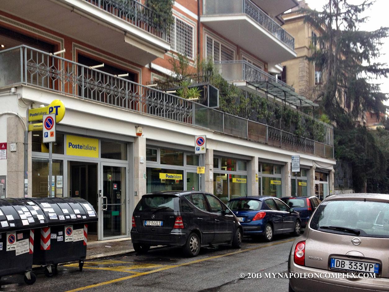 Picture of Italian Post Office, Poste Italiane