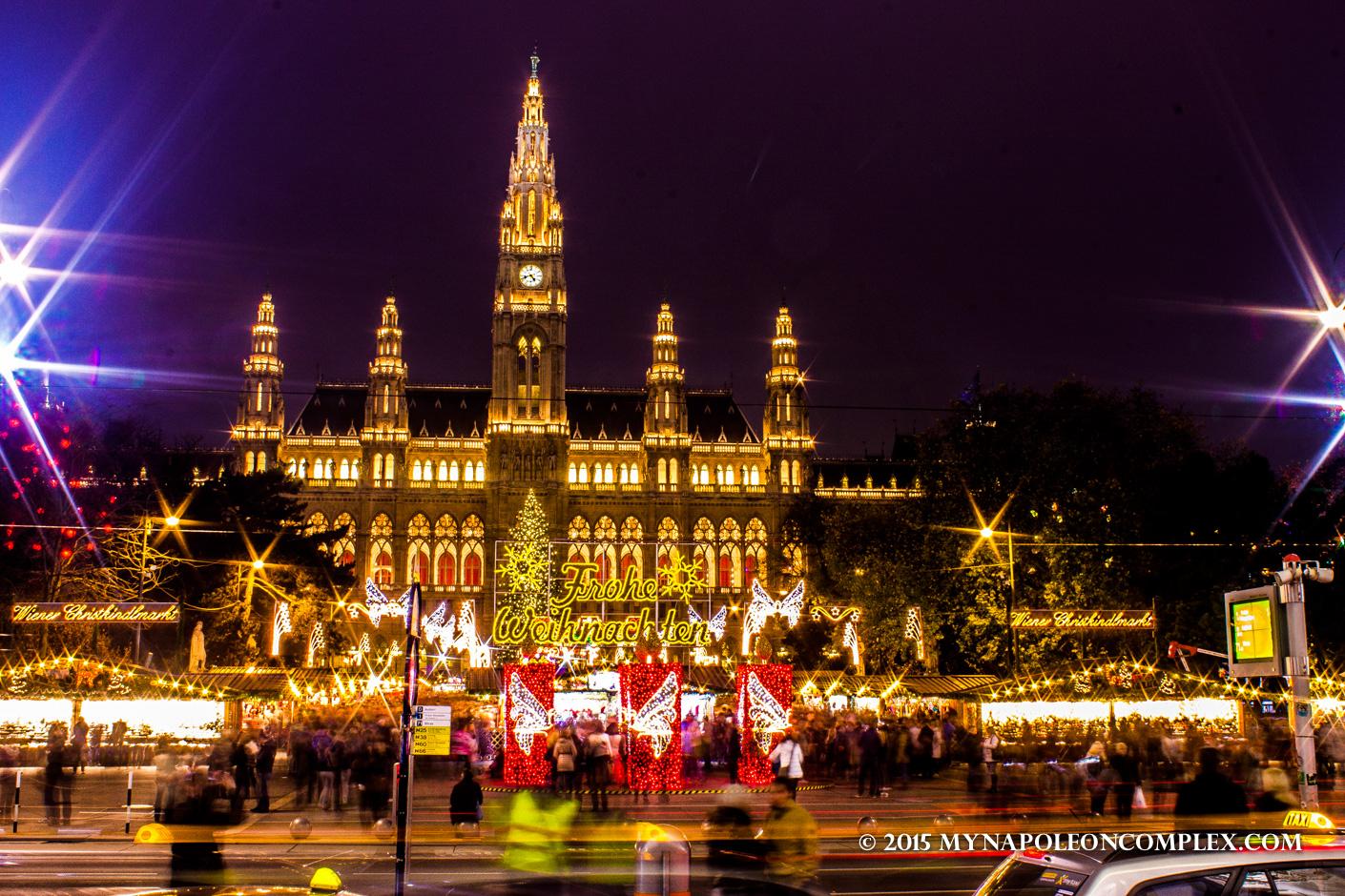 rathaus christmas market - Vienna Christmas Market