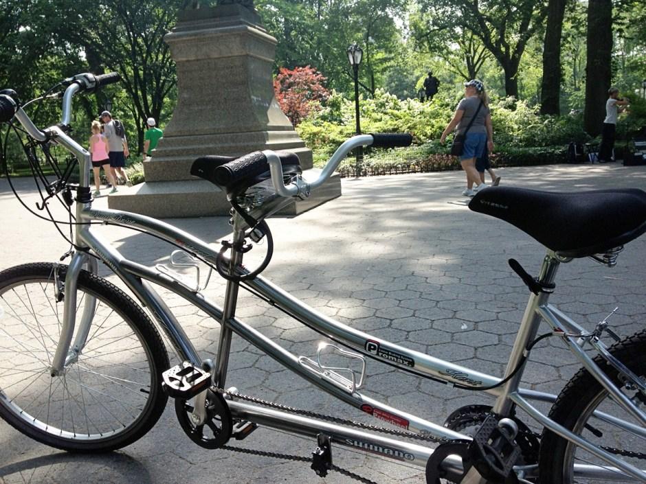 The fateful tandem bike