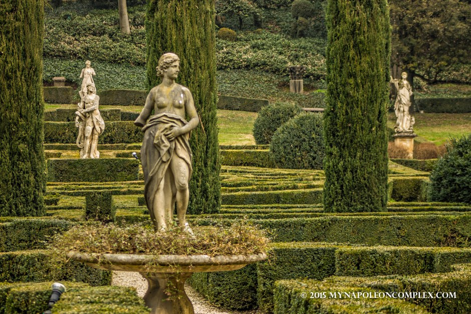 Picture of Giardino Giusti, Verona, Italy