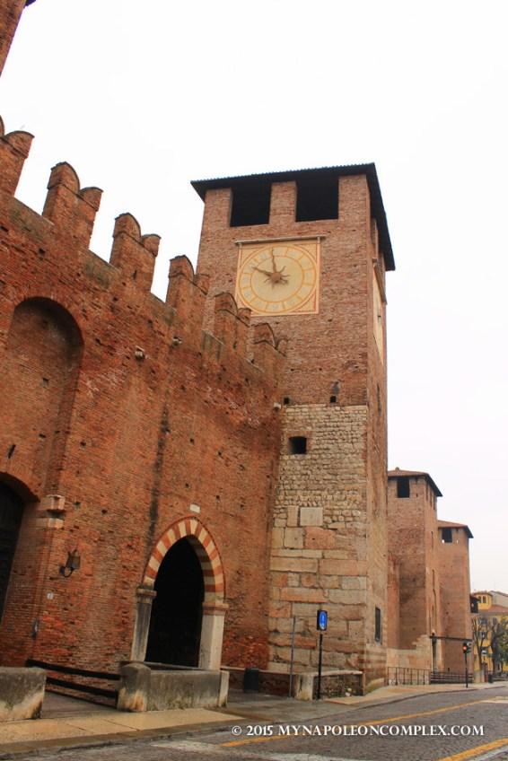 Picture of Castelvecchio, Verona, Italy.