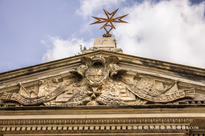 Picture of Grand Priory of the Sovereign Military of Malta, Rome, Italy.
