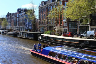 Picture of Amsterdam canal houses