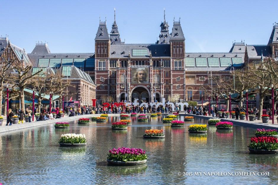 Picture of Rijksmuseum, Amsterdam.
