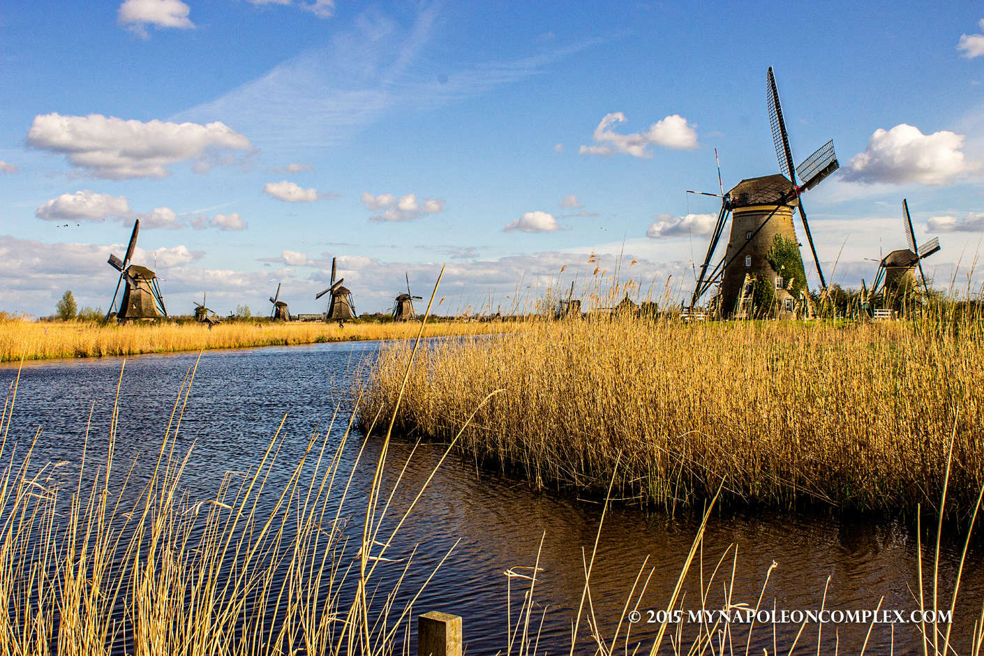 Kinderdijk Windmills: a World Heritage Site of the Netherlands
