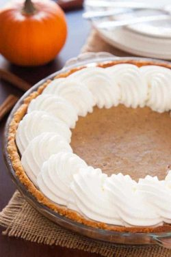 Paleo Pumpkin Pie Recipe