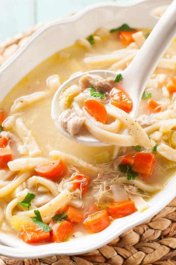 homemade chicken soup recipe crock pot