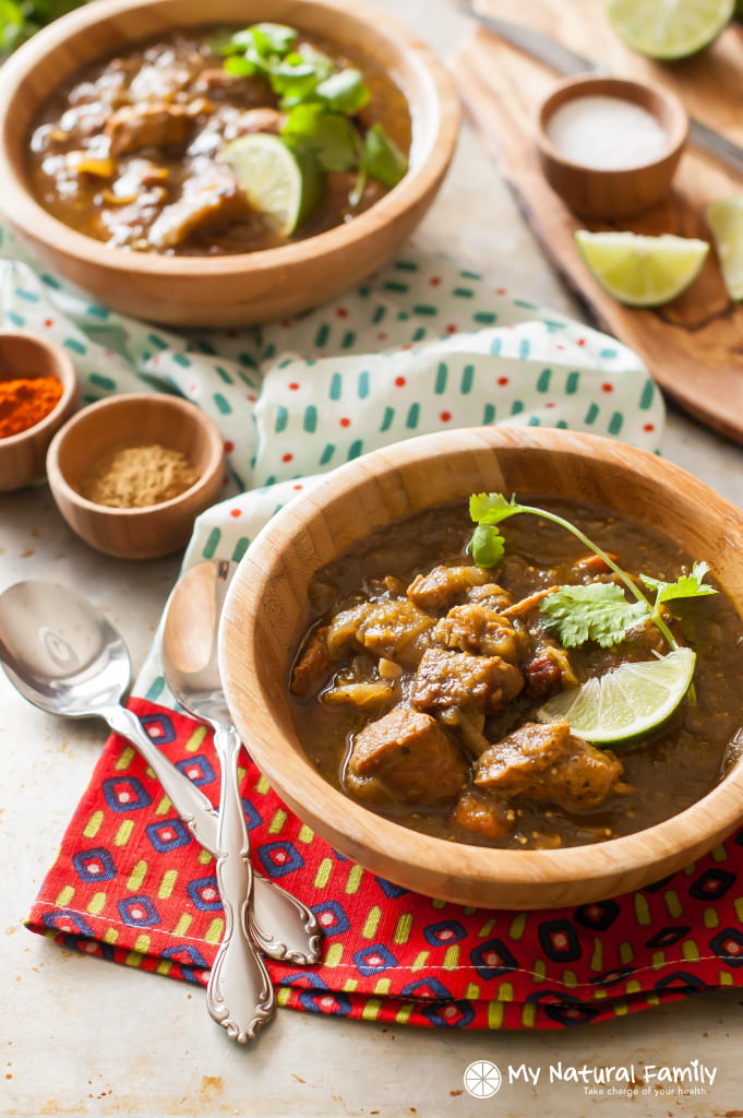 Clean Eating pork chili verde crock pot Recipe