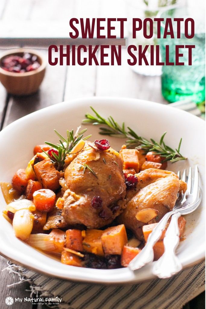 Sweet Potato Chicken Skillet Recipe