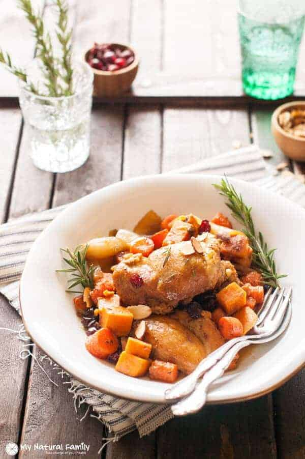 Sweet Potato Chicken Skillet Recipe maple glazed chicken with sweet potatoes