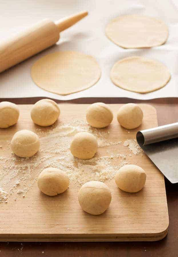 einkorn pita bread