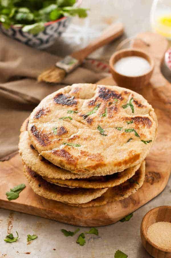 Spelt Naan Bread Recipe