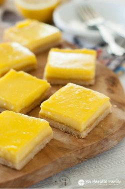 Lemon Bars Recipe {Paleo, Clean Eating, Gluten-Free}