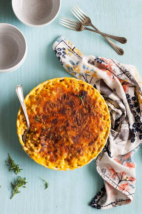 Clean Eating Butternut Squash Macaroni & Cheese