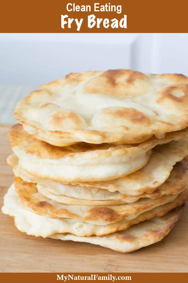 Easy Baking Powder Fry Bread Recipe {Clean Eating}