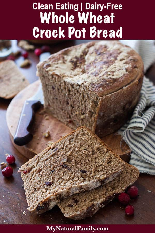 Whole Wheat Crock Pot Bread Recipe