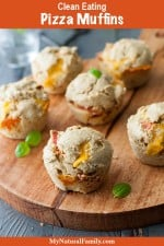 Clean Eating Pizza Muffins