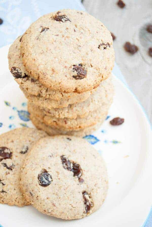 Paleo Oatmeal Cookies Recipe