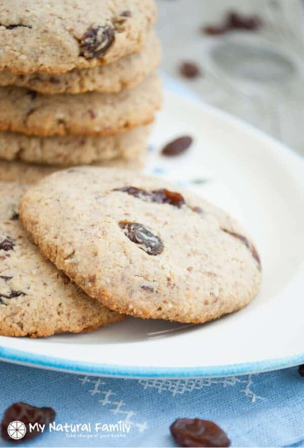 Paleo Oatmeal Cookies Recipe paleo oatmeal raisin cookies