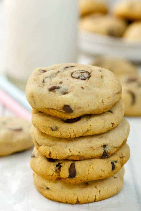The BEST Soft-Batch Paleo Chocolate Chip Cookies best Paleo chocolate chip cookies {Paleo, Gluten-Free, Clean Eating}