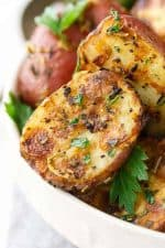 lemon parmesan roasted potatoes