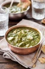 Clean Eating Indian Saag Recipe