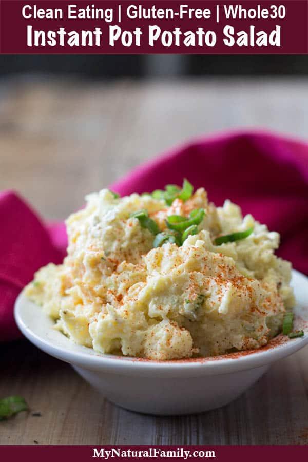 Instant pot potato salad recipe