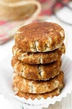 Paleo Snickerdoodles Recipe with Coconut Flour and Flax Seed Eggs
