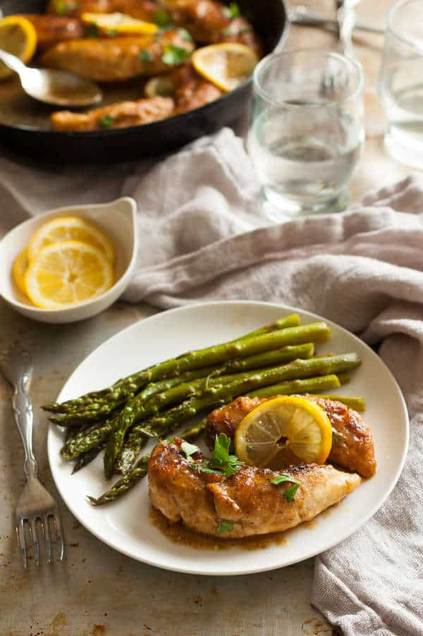 Clean Eating Lemon Chicken Recipe One Pan Lemon Chicken Recipe
