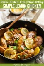 One Pan Lemon Paleo Chicken Recipe