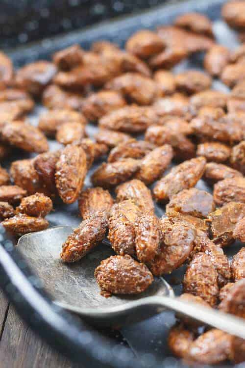Paleo Cinnamon Roasted Almonds Recipe