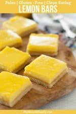 Paleo Lemon Bars Recipe {Clean Eating, Gluten-Free}