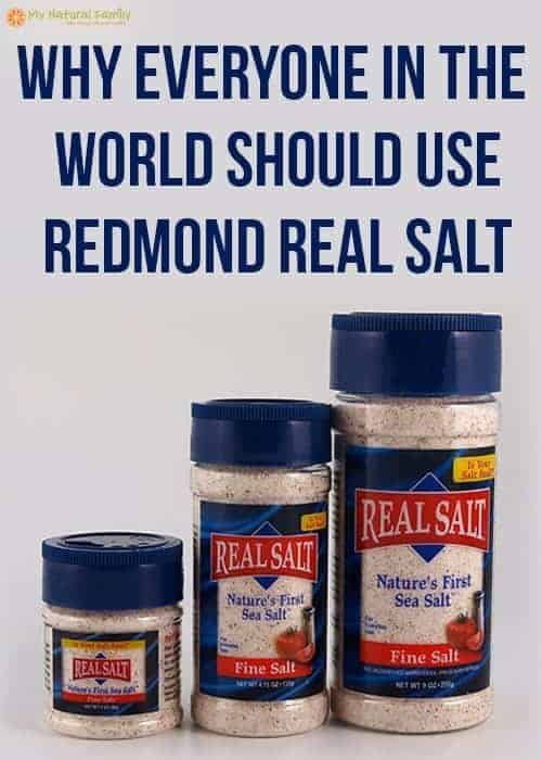 Redmond Real Salt Health Benefits