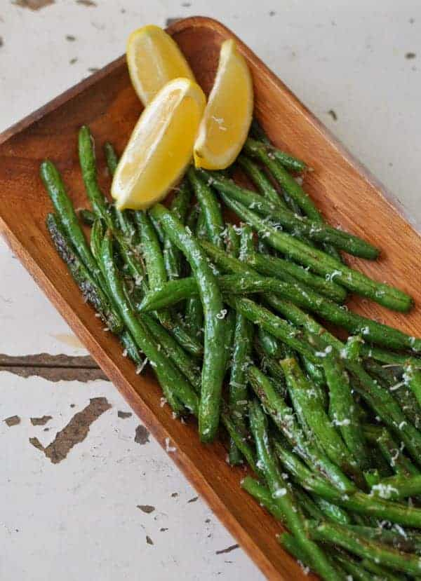 Lemon Parmesan Green Beans