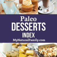 Paleo Desserts Index