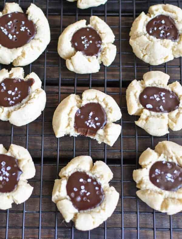 Thumbprint Paleo Christmas Cookies Recipe