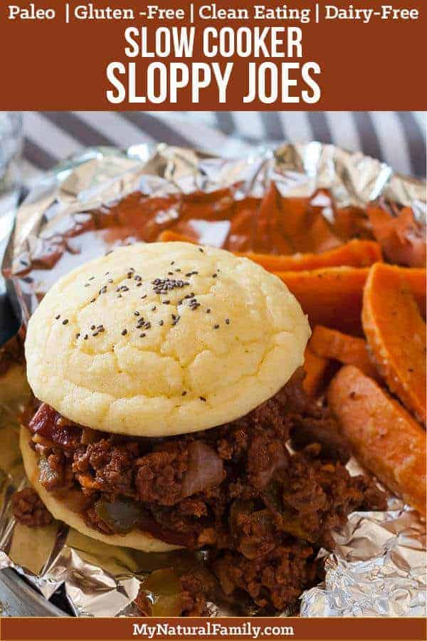 Crock Pot Paleo Sloppy Joes Recipe {Clean Eating, Gluten-Free, Dairy-Free}