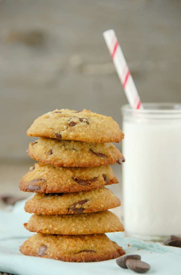 Paleo Chocolate Chip Cookies 1