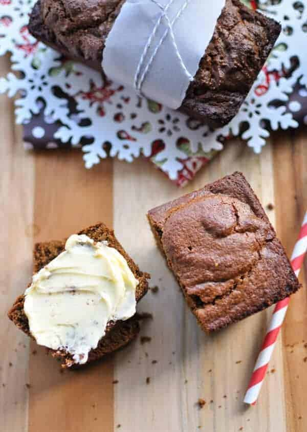 Paleo Gingerbread Loaf