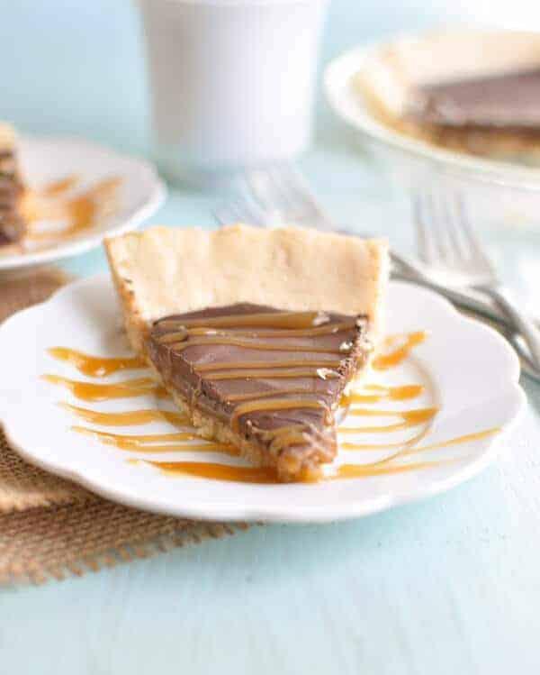 Paleo Chocolate Caramel Pie Recipe