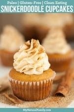 Snickerdoodle Paleo Cupcakes with Coconut Flour Recipe