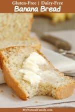 Best Ever Easy Gluten-Free Banana Bread Recipe