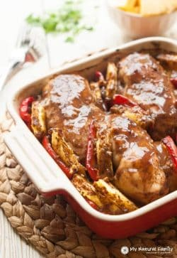 Caribbean Jerk Baked Chicken