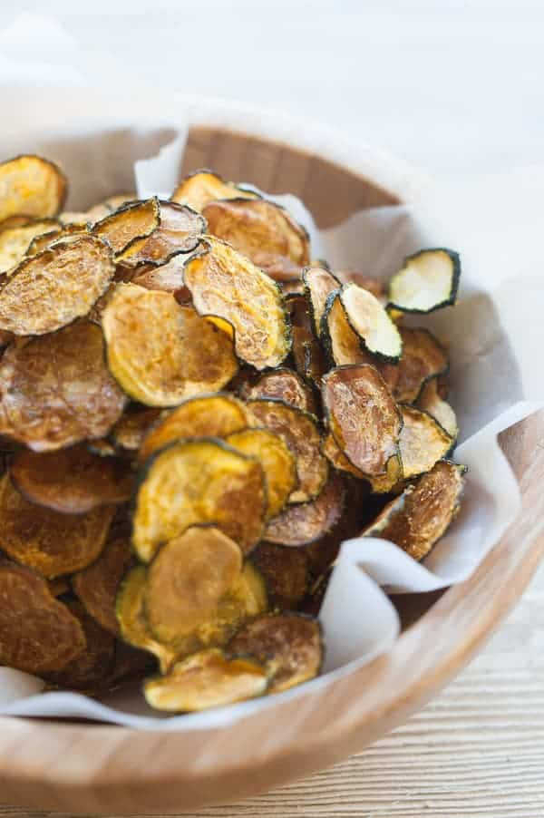 Curried Zucchini Chips