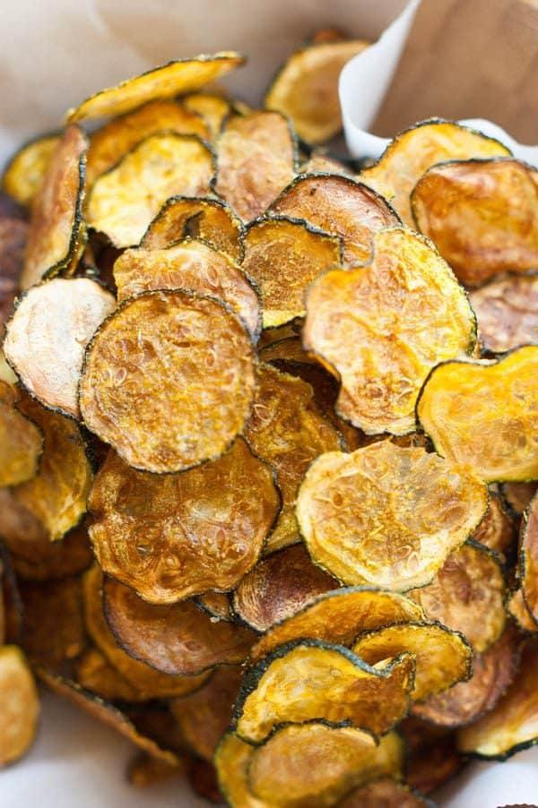Zucchini Chips Paleo