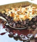 Paleo Blueberry Crisp Recipe